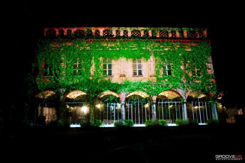 Video Mapping 3D Palazzo La Marmora @ Biella